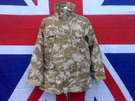 EX MILITARY ARMY DESERT RIPSTOP SMOCK/JACKET